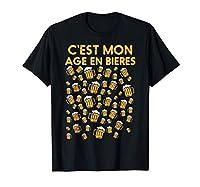 Achètez ce drôle 60 Ans Bières Anniversaire T-Shirt comme cadeau kit d'anniversaire humour 2020 pour père, mère, oncle, tante, frère, soeur, amis etc. Mettez cette idée de cadeau déco mignon pour un joyeux 60 anniversaire et fête en famille! Ce super...