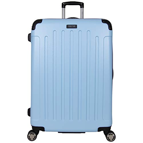 "Kenneth Cole Reaction Renegade 28"" Lightweight Hardside Expandable 8-Wheel Spinner Checked-Size Luggage, Sky Blue, inch"
