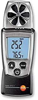 410-1 - Anemometer, 0.4m/s to 20m/s, -10 °C, 50 °C, 0% to 100%, 133 mm (410-1)