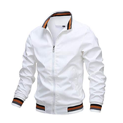 N\P Chaqueta de hombre Sprint chaqueta y abrigo casual cortavientos para hombre