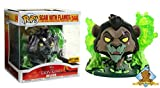 Funko Scar with Flames The Lion King Deluxe Hot Topic Exclusive Vinyl Pop Figure