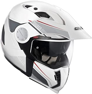 HX01DB91056 CASCO GIVI MOTO INTEGRAL X01 X.01 TOURER JET MAXI ENDURO BLANCO TALLA S