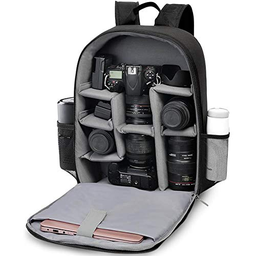 CADeN DSLR SLR Camera Bag Backpack for Mirrorless Cameras/Photographers, Camera Case Backpack Waterproof for Nikon Canon Sony Lens Tripod Accessories Photography Men Women