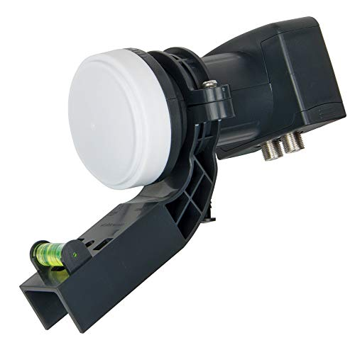 Visiblewave Universal Twin LNB 2 Output Can be used on Mini Dish for Freesat / Sky with PLL