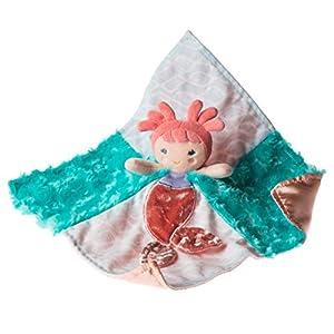Mary Meyer Stuffed Animal Security Blanket, 13 x 13-Inches, Marina Mermaid