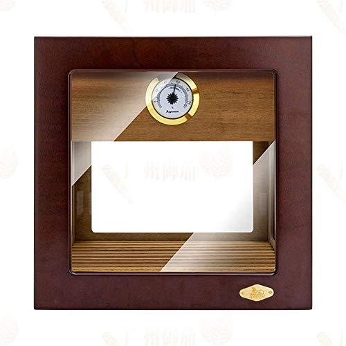 Accesorios Cigarro con cedro de madera Cedar Cajas de cigarros Hecho de pintura visible Humidor Humidor Accesorios de cigarros leilims