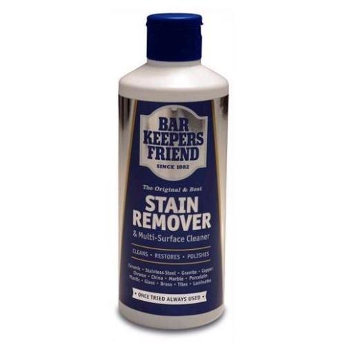 Bar Keepers Friend Multisuperficie de limpieza para el hogar y quitamanchas en polvo, 250 g, 250 g