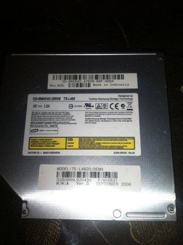 Toshiba Dvd Rom Ts-l462 for Gx620 Gx520 Lapto Dvd Rom Ts-l462d / Demh IDE