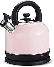 Fisecnoo 2L elektrische waterkoker 3L huis boiler 2000W waterkoker voor thee koffie havermout anti-verbranding handvat gro...