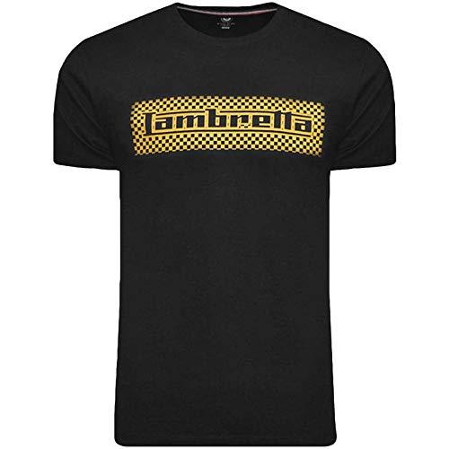 Lambretta Men's Two Tone Logo T-shirt, Grey or Navy, S to XXL