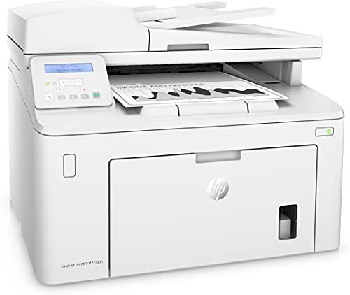 HP LaserJet Pro MFP M227sdn G3Q74A, Impresora Láser Multifunción, Imprime, Escanea, Copia, Ethernet, USB 2.0 de alta velocidad, HP Smart App, Apple AirPrint, Panel de Control LCD, Blanca