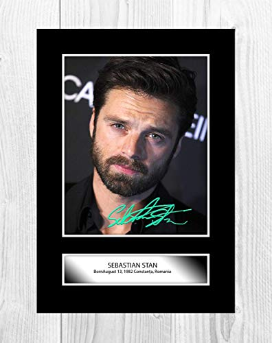 Good With Wood Yorkshire Sebastian Stan (2) Reproduction Autograph Photograph Picture Poster Photo A4 Print (unframed)