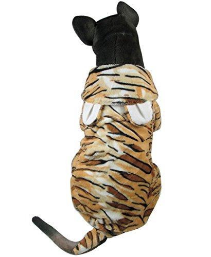 Zunea Disfraz de tigre para perro, para perros grandes y medianos ...