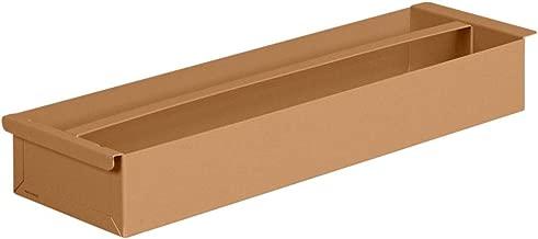Tool Tray, 27-5/8 in. Lx8 in. W, Steel, Tan