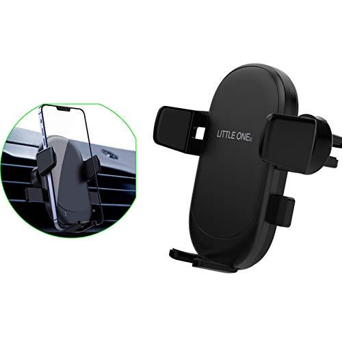 Soporte Teléfono Automóvil, Soporte Teléfono Móvil Mount Gravity Air Vent Phone Automóvil Rotación 360 grados, Soporte para Automóvil Ajustable para Teléfono Inteligente de 4.7 A 6.7 Pulgadas