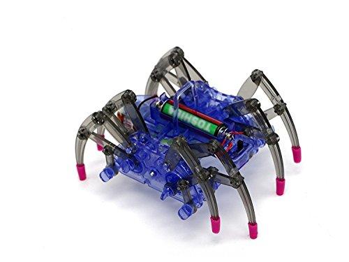 VFENG Spider Robot Kit,Science Toy kits, DIY Building Kit /Best Education Kit for Kids Funny