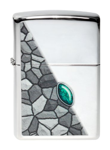 Best Buy! Zippo Lighter Turquoise Pattern Collection 2014