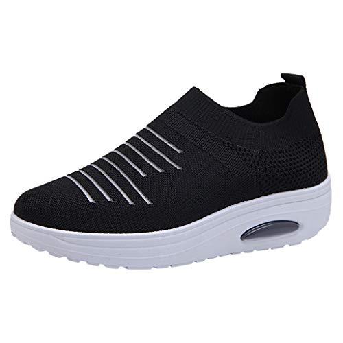 Zapatos Deportivos para Mujer - Zapatillas de Deporte con Cojín de Pie...