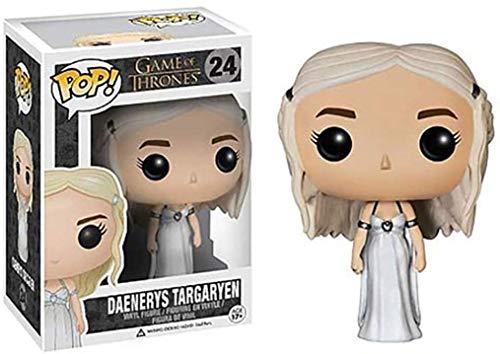 YUEDAI Juego de Tronos - Daenerys Targaryen en Caja Adornos Juego De Tronos Regalos Figura Coleccionable 10CM
