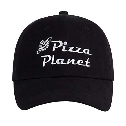 yitao Baseball Kappe Neue Pizza Planet Hut Baseballmütze Stickerei Papa Hut Sommer Sonne Pizza Baumwolle Snapback Hip Hop Sportmütze Pokemon Bone