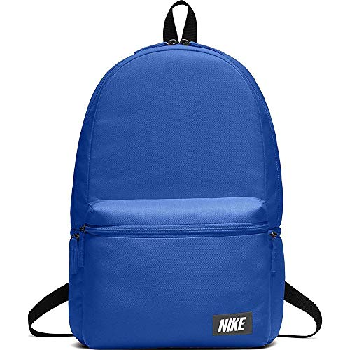Nike Nk Heritage Bkpk - Label, Unisex-Erwachsene Rucksack, Blau (Signal Blue/Black Or), 15x24x45 cm (W x H L)