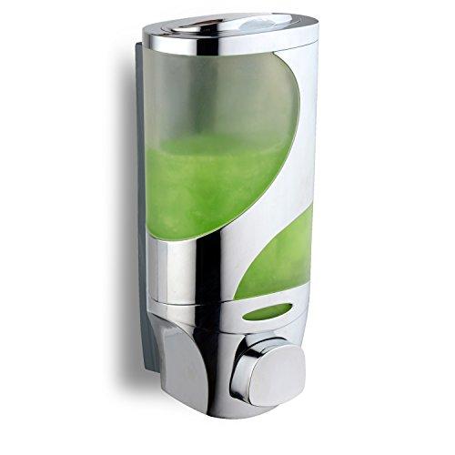 HotelSpaWave Luxury Soap/Shampoo/Lotion Modular-Design Shower Dispenser System (Pack of 1)
