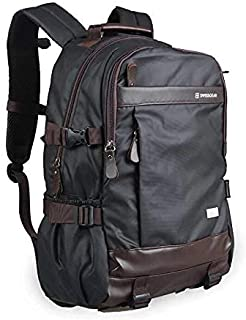 """Swiss gear Premium 18"""" PU Leather Backpack/Laptop Bag/Casual backpack/laptop backpack"""