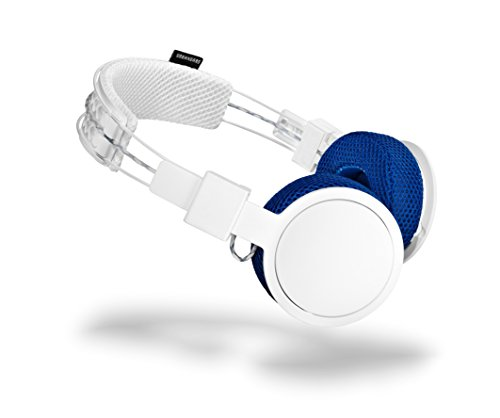 Urbanears Hellas Team - Auriculares con Diadema (Bluetooth, 98 dB, 20 Hz–20 kHz), Color Blanco/Azul