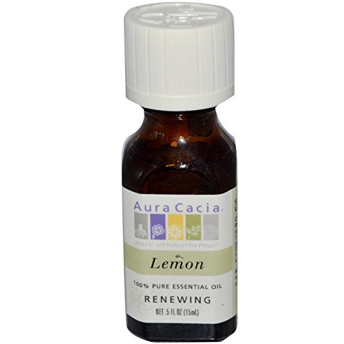 Aura Cacia Huile essentielle de citron - 15 ml