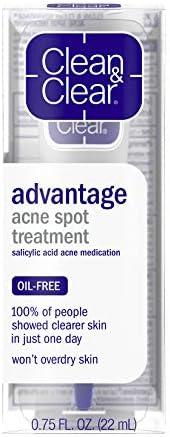 Cln Clr Adv Spt Trtmnt Size 75z Clean Clear Advantage Acne Spot Treatment product image