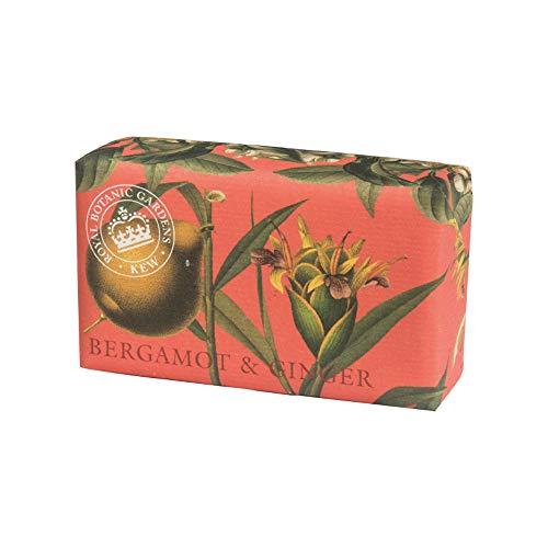 Royal Botanical Gardens, Kew Bergamot & Ginger Shea Butter Soap, 240g