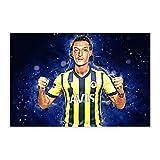 Mesut Ozil Fußball-Poster, 3 Leinwand-Poster,