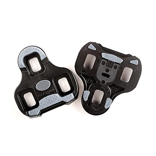 LOOK Cycle - KEO Grip Fahrrad-Cleats mit Memory-Positionier-Funktion - Kompatibel mit Allen auf dem Markt erhältlichen Pedalen - Anti-Rutsch TPU Oberfläche - 0° Winkelfreiheit - Farbe Schwarz