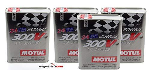 Öl Motor Turnier - Motul 300V Le Mans 20W-60, Pack 8 Liter