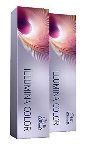 Wella 2x Illumina Color 5/81 Hellbraun Perl-Asch 60 Ml