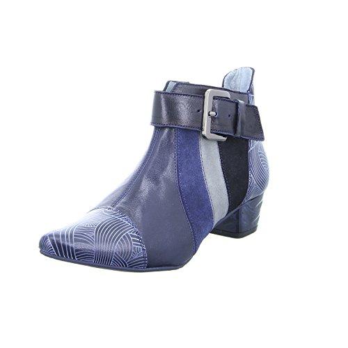 Maciejka Damen Stiefeletten Stiefeletten 03138-17/00-5 blau 334115