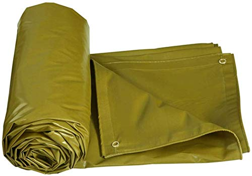 DJPB Thickening Tarpaulin Multi-Purpose Garden Outdoor Waterproof Heavy Duty 100% Waterproof And UV Protected Ground Sheet Covers For Camping 4PB08 (Size : 7X5M)