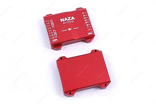 Aluminium Gehäuse für DJI Naza M H V2 Lite Flight Controller (Rot) - Pana Pro