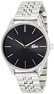 Lacoste Men's Analogue Quartz Watch with Stainless Steel Strap 2011073