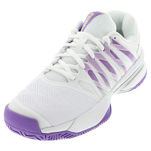 K-Swiss Women's Ultrashot 2 Tennis Shoe (White/Fairy Wren/Silver, 8.5) Arkansas