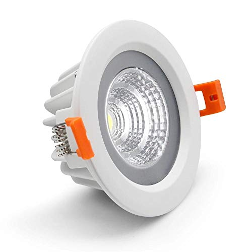 Lámpara de techo LED empotrada IP65 Punto impermeable Led 5W 7W 12W 15W Baño interior Balcón Luminaria LED COB Downlight -natural_white_12W