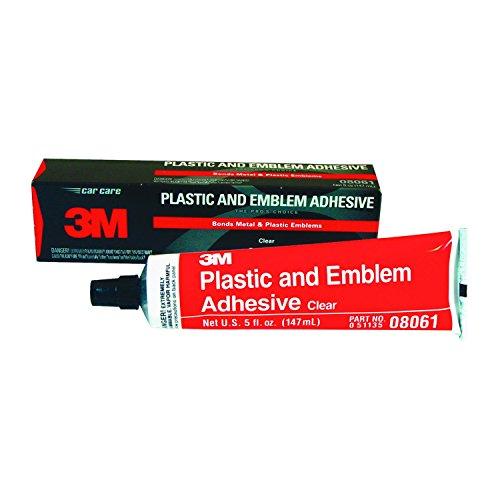 3M (MMM8061) 3M Plastic and Emblem Adhesive, 5 oz. Tube