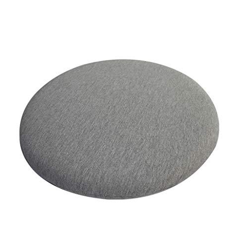 YiPong - Cuscino rotondo per sedia, comodo cuscino imbottito in memory foam, per casa e ufficio