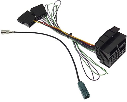 Adaptador de Cable de Antena NAVI Compatible con VAG MFD2 RNS2 Radio RCD300 RCD500 Delta6