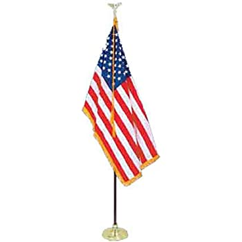 We Support Our Troops Flag 5 x 3 ft Comes With FREE  BALL TIES