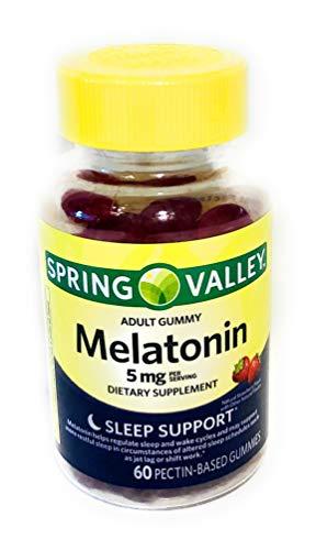 Spring Valley Adult Gummy Melatonin 5 mg.