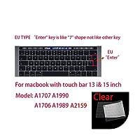 for Apple for Macbook pro13 / 11Air 13 / 15Retina12インチ用全シリーズシリコンキーボードカバーケース透明クリアプロテクターフィルムEU / US-D-
