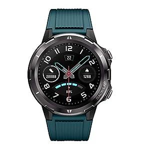 Lintelek SmartWatch Fitness Tracker Touchscreen SmartWatch wasserdichte Uhr mit Herzfrequenzmesser Schrittzähler Schlafmonitor Stoppuhr für Männer und Frauen kompatibel mit Android und iOS