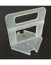 Treklussen 2 mm, 300 stuks, tegelnivelleringssysteem, tegeldikte 3-12 mm, legsysteem, tegelleghulp, tegellegsysteem, tegelnivelleringssysteem