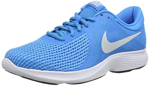 Nike Nike Revolution 4 Eu Zapatillas de Running Hombre, Multicolor (Blue Hero/Pure Platinum/Blue Glow/Black 441), 42.5 EU